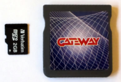 gateay 3ds blue card