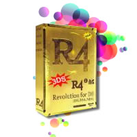 R4 3DS Gold R4i